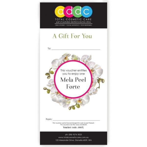 Mela Peel Forte Gift Voucher 1